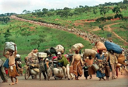 ready people leaving rwanda as refugee